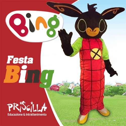 Animazione Festa a tema bing con la nostra mascotte