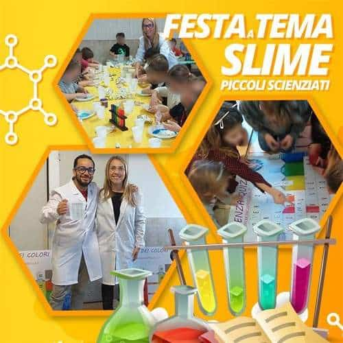 Animazione Slime Party o Festa a Tema Scienza