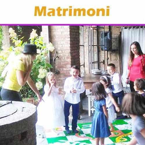 copertina dei servizi 'Animazione per Bambini Matrimonio'