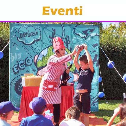 copertina dei servizi 'Animazione per Bambini in Eventi in Piazza'