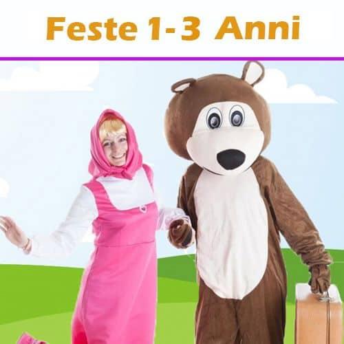 copertina dei servizi 'Feste di compleanno per bambini fino 3 anni'