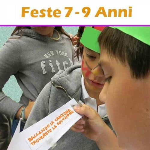 copertina dei servizi 'Feste di compleanno per bambini dai 7 ai 9 anni'